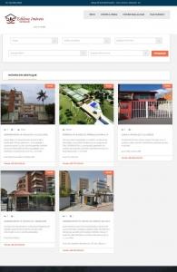 Modelo 1 de Site para Imobiliária