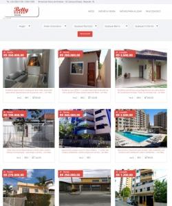 Modelo 2 - Site para Imobiliárias e Corretores